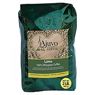 Ajuvo World Market Ethiopian Limu Roasted Coffee Beans