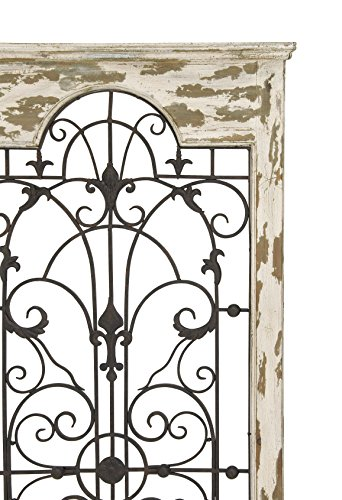Deco 79 Magical Wooded Gate Style Wall Plaque 1