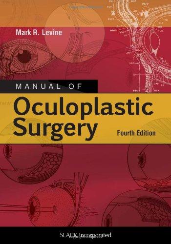 Manual Of Ocuplastic Surgery