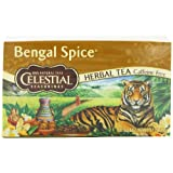 Celestial Seasonings Herb Tea, Bengal Spice, 20-Count Tea Bags (Pack of 6) ~ Celestial Seasonings