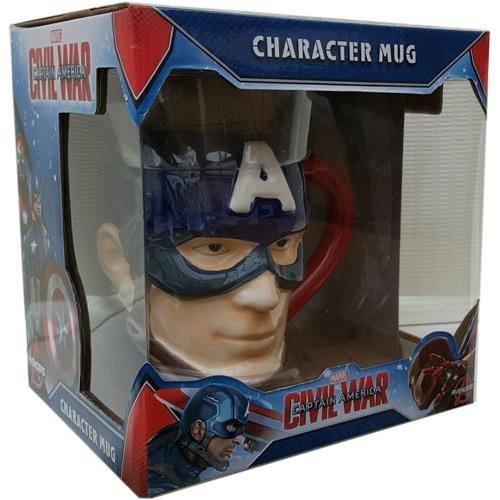 Tazza a forma di Capitan America - Civil War
