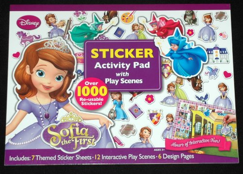 Sofia the First Sticker Activity Pad - 1