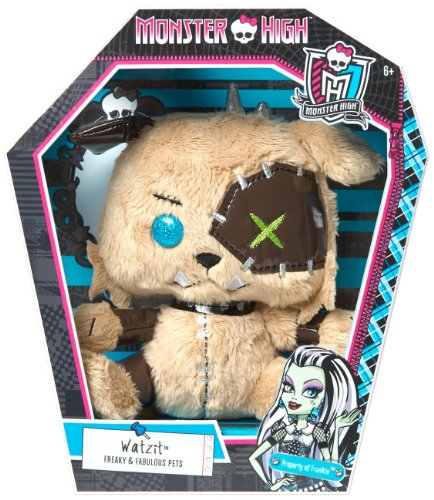 Monster High Pet Friend Watzit Bean Plush