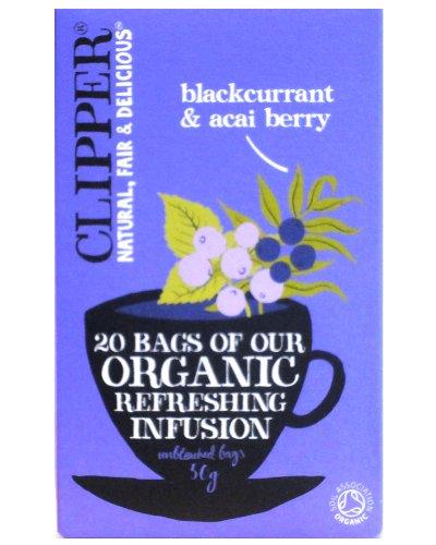 Clipper Organic Blackcurrant & Acai Berry 20 Teabags