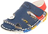 Junior Unisex Synthetic Casual Athletic & Outdoor Sandals (JS019, Blue, 21)