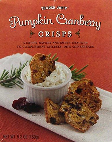 Trader Joe's Pumpkin Cranberry Crisps (Goat Cheese Cranberry compare prices)