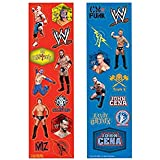 WWE Wrestling Stickers (8 sheets)