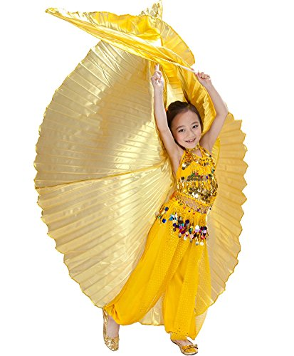 AvaCostume Child Professional Belly Dancing Isis Wings