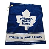Toronto Maple Leafs NHL Woven Golf Towel at Amazon.com