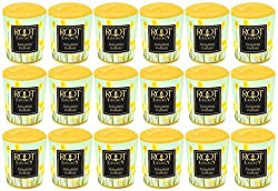 Root Legacy Scented 20-Hour Votive Candles Delightful Daffodil Box of 18