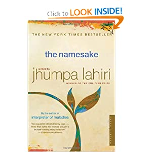 the namesake jhumpa lahiri, books by jhumpa lahiri, interpreter of maladies, unaccompanied earth, reading lists for book clubs, book club reading lists