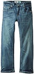 Levi\'s Big Boys\' 505 Regular Fit Jean, Clouded Tones, 14
