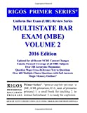 img - for Rigos Primer Series Uniform Bar Exam (UBE) Review Series MBE Volume 2: 2016 Edition book / textbook / text book