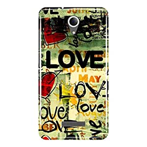 a AND b Designer Printed Mobile Back Cover / Back Case For Micromax Canvas Pace 4G Q416 (MIC_Q416_3D_436)