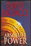 img - for Absolute Power by Baldacci, David (1996) Hardcover book / textbook / text book