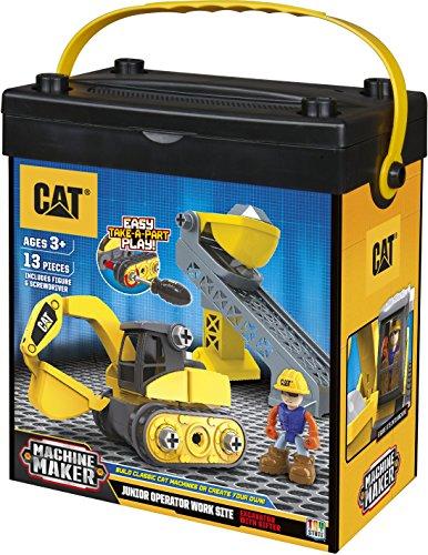 cat site machine dump truck