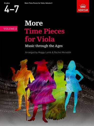 More Time Pieces for Viola, Volume 2: Music through the Ages (Time Pieces (ABRSM))