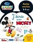 J'�cris avec Mickey - PS - Ardoise