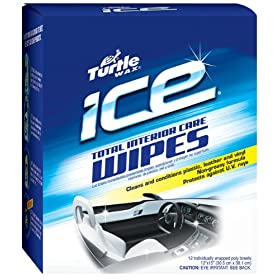 Turtle Wax T484p Ice Total Interior Care Wipes Automotive