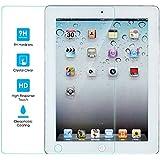Kit Me Out FR Protecteur d'écran en verre trempé (résistance 9H) pour Apple iPad 2 / iPad 3 / iPad 4 - transparent