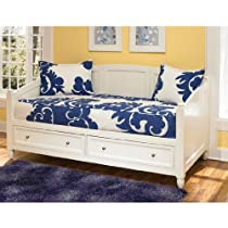 Big Sale Home Styles 5530-85 Naples Daybed with Storage, White Finish