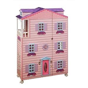 New York Mansion - Doll House with Furniture 仿真纽约高档住宅区玩具屋,带室内家具