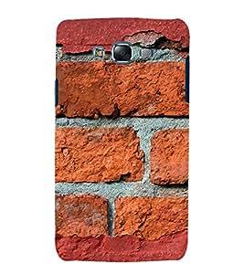 printtech Wall Brick Back Case Cover for Samsung Galaxy E5 / Samsung Galaxy E5 E500F