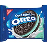 Oreo Mint Creme Oreo Cookie, 15.25-Ounce Package (Pack of 4)