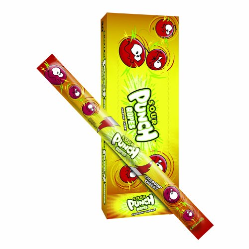 Sour Punch Rope Cherry 0 9 Ounce Ropes Pack of 30