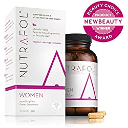 Nutrafol Women Advanced Thinning Hair & Hair Loss Supplement - 120 Capsules