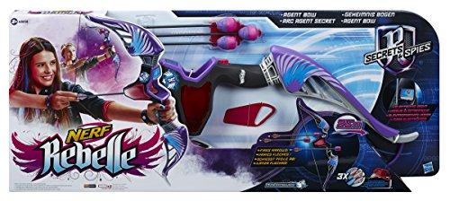 Hasbro B0344EU4 - Nerf Rebelle Geheimnis Bogen, farblich sortiert