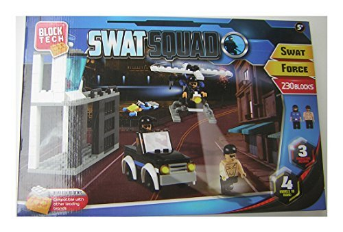 Block Tech SWAT Squad - SWAT Force - 230 Blocks - 1