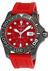 Victorinox Swiss Army Men's 241353 Dive Master Red Dial Watch