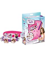 Euroswan - 86761 - Violetta - Set 3 Bracelets Et 18 Accessoires
