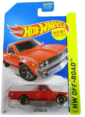 Hot Wheels - 2014 HW Off-Road 139/250 - HW Hot Trucks - Datsun 620 (red) - 1