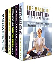 Inner Peace Box Set (6 In 1): Discover The Power Of Yoga, Clean Your Body, Mind And Soul Using Amazing Secrets Of Aromatherapy And Crystal Healing (meditation & Stress Relief)