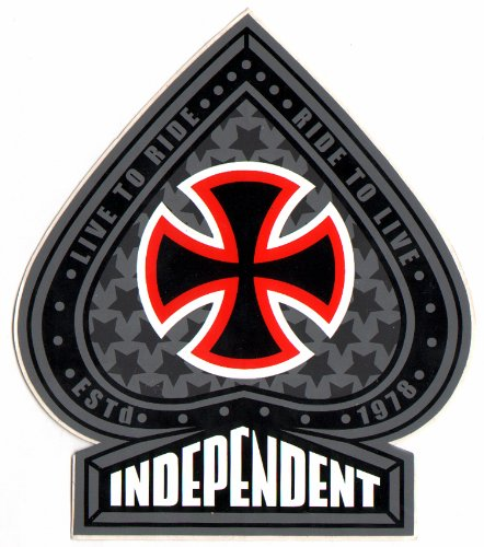 Independent Trucks Skateboard Sticker - New skate skateboarding sk8 skating