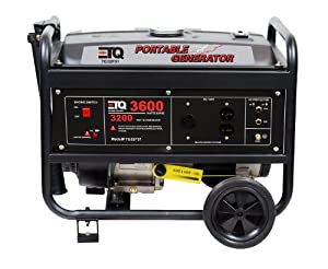 ETQ TG32P31 3600-Watt 7-HP 207cc 4-Cycle OHV Gas Powered Portable Generator (Discontinued by Manufacturer)