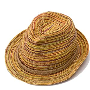 Womens Summer Straw Hats Bohemia Wide Brim Beach Sun Hat