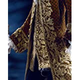 Coat and waistcoat, detail. France, 18th century (V&A Custom Print)