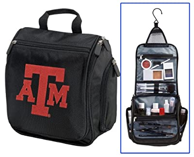 Best Cheap Deal for Texas A&M Toiletry Bags Or Hanging Texas A&M Aggies Shaving Kit by Broad Bay - Free 2 Day Shipping Available