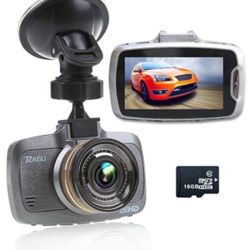 RAGU-27-LCD-170-1080P-HD-Auto-DVR-Kamera-Videorekorder-mit-16GB-TF-Karte-Armaturenbrett-Fahrt-Camcorder-Nachtsicht-Automatische-Loop-Zyklus-Aufnahme-Bewegungserkennung-Fahrspur-Abreise-berwachung-beim