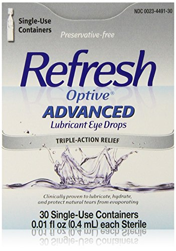 Refresh Optive Advanced Lubricant Eye Drops, 0.01 fl. oz each, 30 Count (Refresh Optive Preservative Free compare prices)