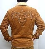 インディアンモトサイクル Indian Mortorcycle コーデュロイ ランチジャケット スタッズ&ストーン IMJK-406 キャメル色 ネイティブ アメカジ バイカー