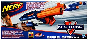NERF N-Strike Elite Barrel Break IX-2 Dart Blaster