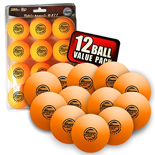 Cheapest Price! Sportly® Table Tennis Ping Pong Balls, 3-Star 40mm Advanced Training Regulation Siz...