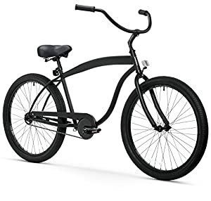 sixthreezero Men's In The Barrel 1-Speed 26-Inch Beach Cruiser Bicycle