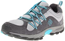 Columbia Daybreaker Bungee and Toggle Hiking Shoe,Platinum/Opal Blue,8 M US Toddler