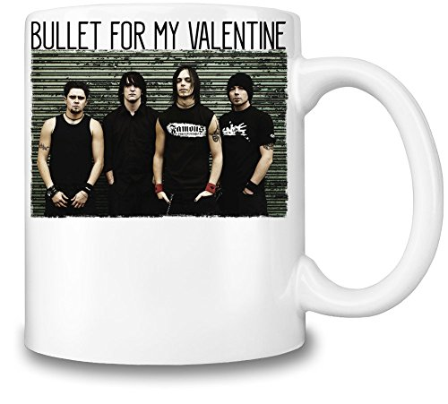 Bullet For My Valentine Members Tazza Coffee Mug Ceramic Coffee Tea Beverage Kitchen Mugs By Genuine Fan Merchandise