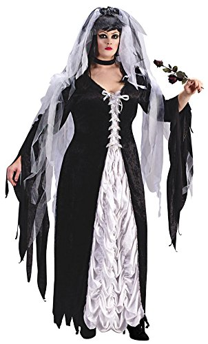 Bride Of Darkness Plus Sz Halloween Costume - Adult Plus